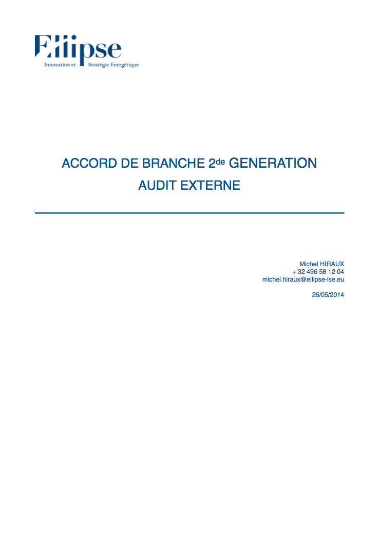 Audit externe