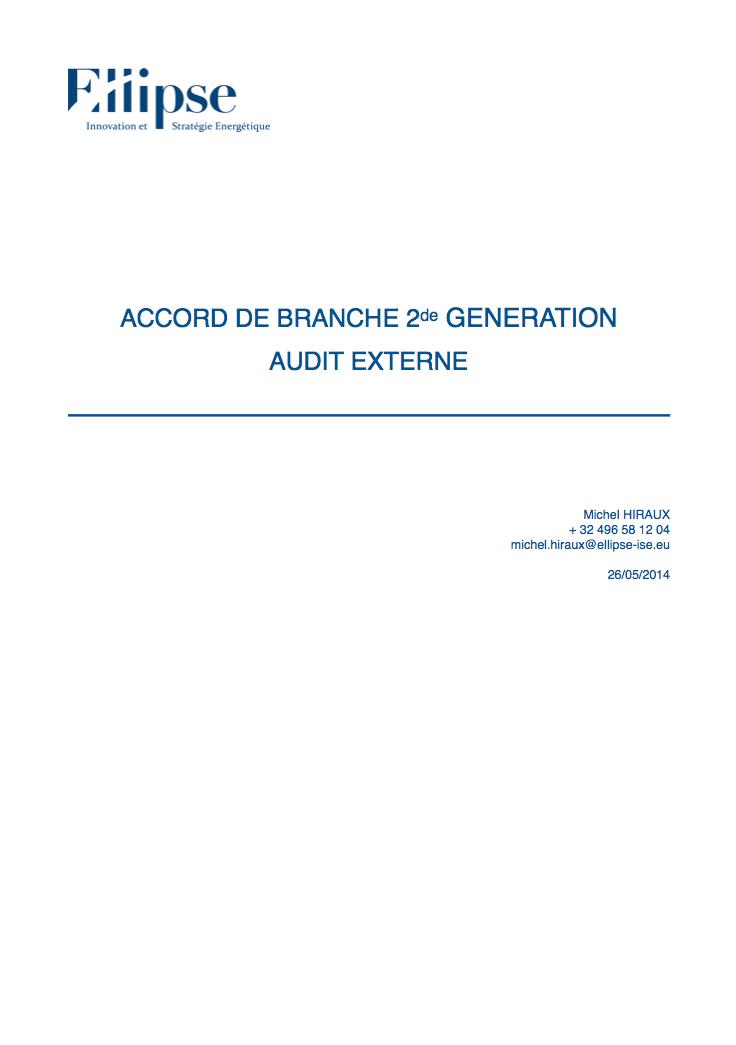 Audit externe